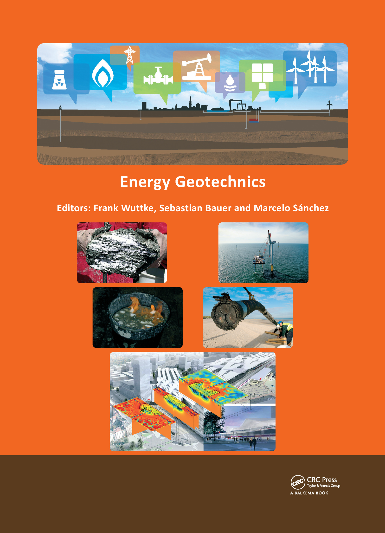 Energy Geotechnics: Proceedings of the 1st International Conference on Energy Geotechnics, ICEGT 2016, Kiel, Germany, 29-31 August 2016, 1st Edition (Pack - Book and CD) book cover