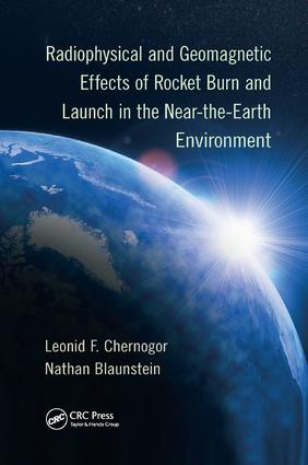 Radiophysical and Geomagnetic Effects of Rocket Burn and Launch in the Near-the-Earth Environment