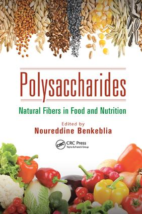Polysaccharides: Natural Fibers in Food and Nutrition, 1st Edition (Paperback) book cover