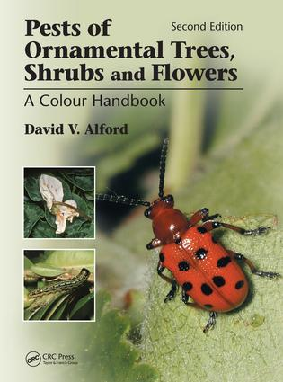 Pests of Ornamental Trees, Shrubs and Flowers: A Colour Handbook, Second Edition, 2nd Edition (Paperback) book cover