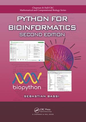 Python for Bioinformatics book cover