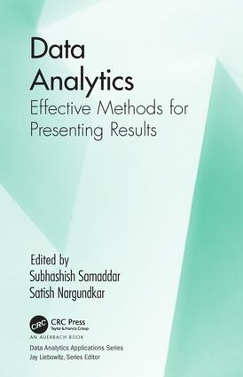 Data Analytics: Effective Methods for Presenting Results, 1st Edition (Hardback) book cover