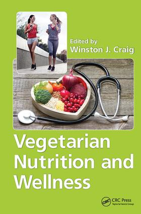 Vegetarian Nutrition and Wellness book cover