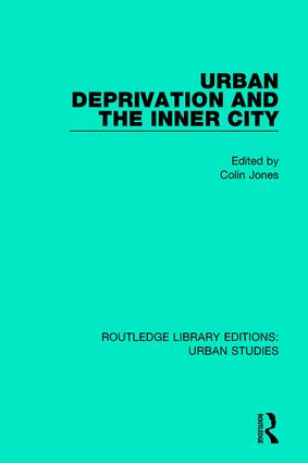 Urban Deprivation and the Inner City book cover