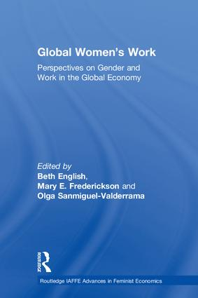 Global Women's Work: Perspectives on Gender and Work in the Global Economy book cover
