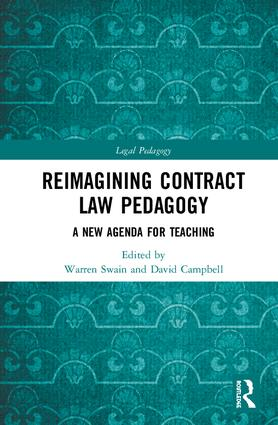 Reimagining Contract Law Pedagogy: A New Agenda for Teaching book cover