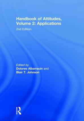 Handbook of Attitudes, Volume 2: Applications: 2nd Edition book cover