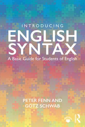 Introducing English Syntax: A Basic Guide for Students of English, 1st Edition (Paperback) book cover