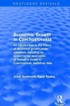 Economic Growth in Czechoslovakia