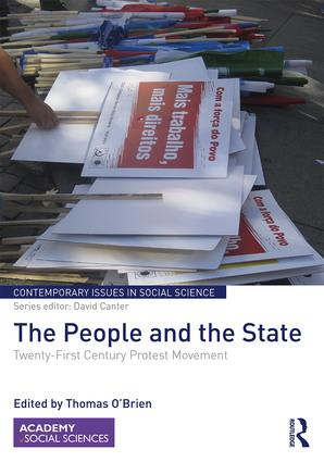 The People and the State: Twenty-First Century Protest Movement book cover