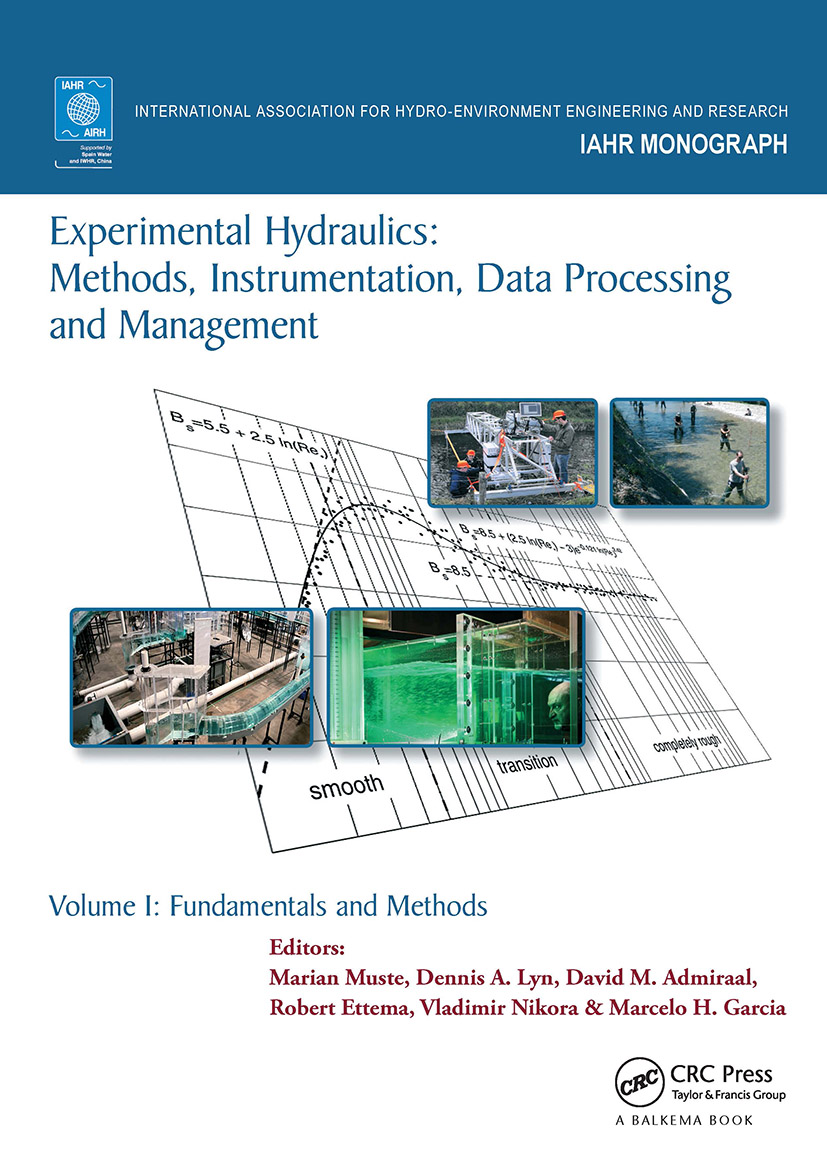 Experimental Hydraulics: Methods, Instrumentation, Data Processing and Management: Volume I: Fundamentals and Methods book cover
