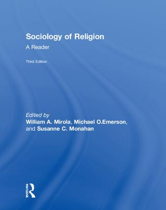 Sociology of Religion: A Reader book cover