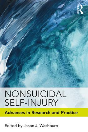 Nonsuicidal Self-Injury: Advances in Research and Practice book cover