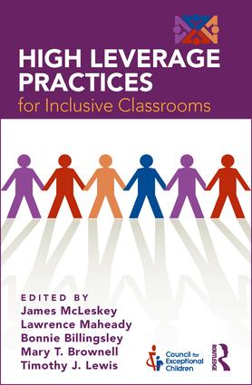 High Leverage Practices for Inclusive Classrooms: 1st Edition (Paperback) book cover