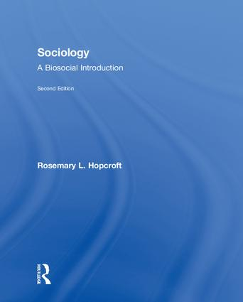 Sociology: A Biosocial Introduction book cover