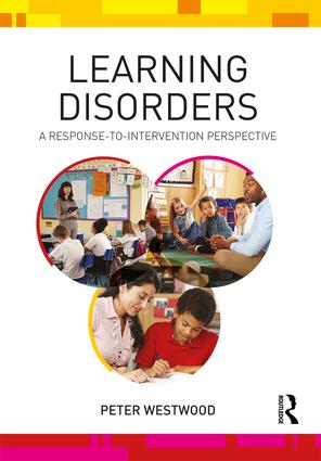 Learning Disorders: A Response-to-Intervention Perspective, 1st Edition (Paperback) book cover