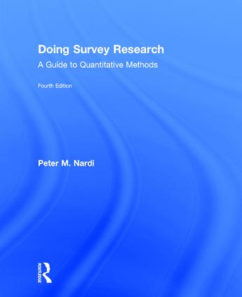 Doing Survey Research: A Guide to Quantitative Methods, 4th Edition (Hardback) book cover