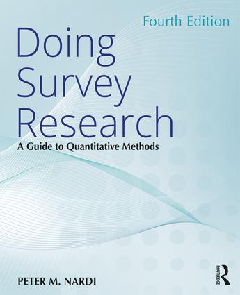 Doing Survey Research: A Guide to Quantitative Methods book cover