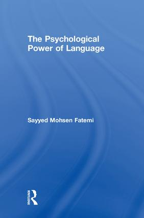 The Psychological Power of Language book cover