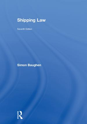 Shipping Law: 7th Edition (Hardback) book cover