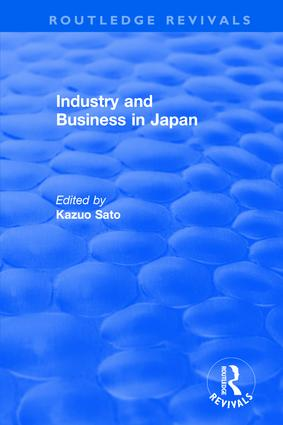 Industry and Bus in Japan: 1st Edition (Hardback) book cover