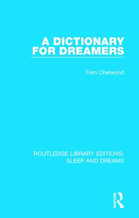 A Dictionary for Dreamers book cover