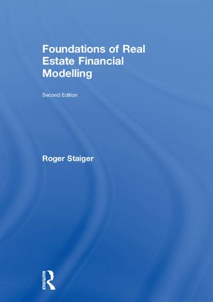 Foundations of Real Estate Financial Modelling: 2nd Edition (Hardback) book cover