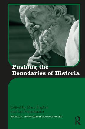 Pushing the Boundaries of Historia book cover