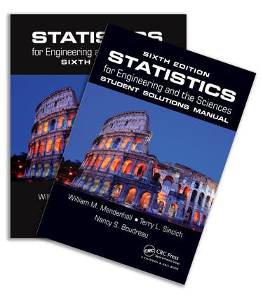 Statistics for Engineering and the Sciences, Sixth Edition, Textbook and Student Solutions Manual: 1st Edition (Hardback) book cover