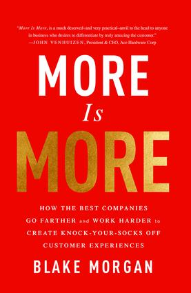 More Is More: How the Best Companies Go Farther and Work Harder to Create Knock-Your-Socks-Off Customer Experiences book cover