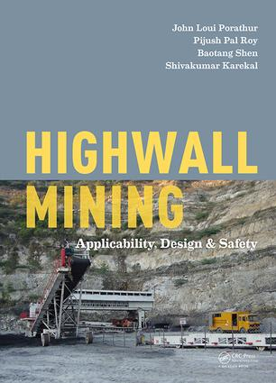 Highwall Mining: Applicability, Design & Safety, 1st Edition (Hardback) book cover
