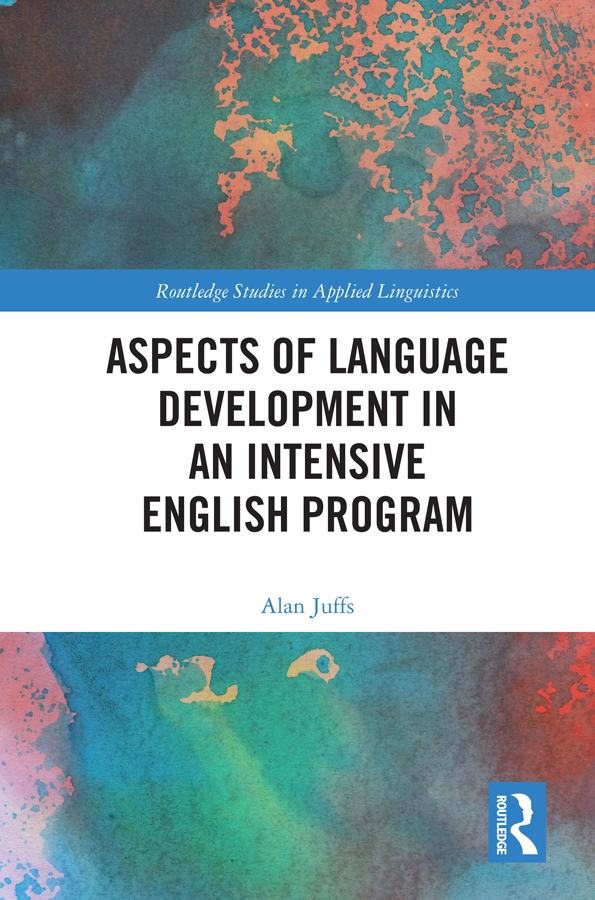 Aspects of Language Development in an Intensive English Program book cover