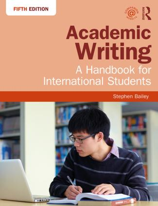 Academic Writing: A Handbook for International Students book cover