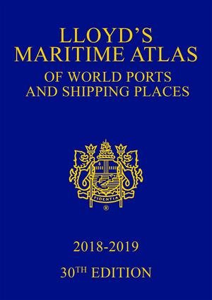 Lloyd's Maritime Atlas of World Ports and Shipping Places 2018-2019 book cover