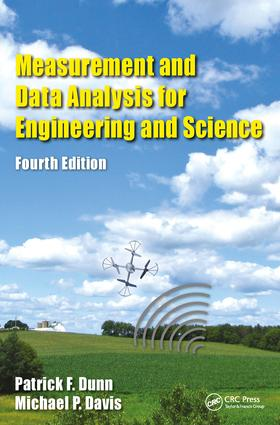 Measurement and Data Analysis for Engineering and Science: 4th Edition (Hardback) book cover