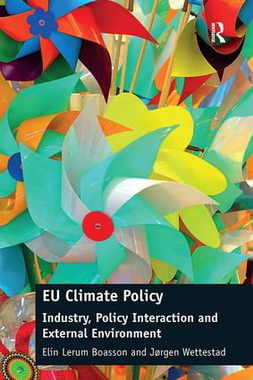 EU Climate Policy: Industry, Policy Interaction and External Environment, 1st Edition (Paperback) book cover