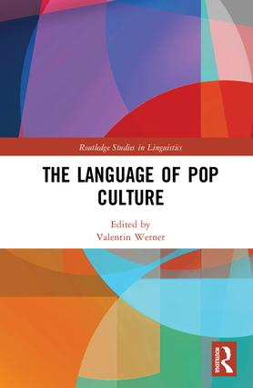 The Language of Pop Culture: 1st Edition (Hardback) book cover