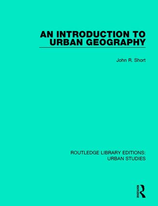 An Introduction to Urban Geography book cover