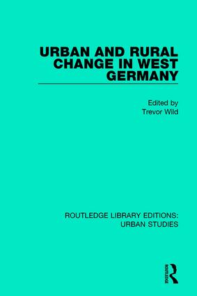 Urban and Rural Change in West Germany: 1st Edition (Paperback) book cover