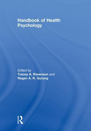 Handbook of Health Psychology book cover