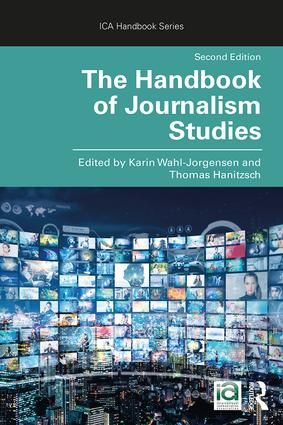 The Handbook of Journalism Studies book cover