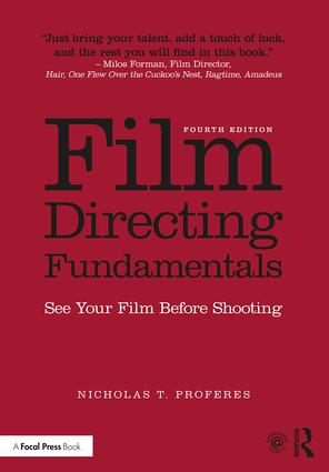 Film Directing Fundamentals: See Your Film Before Shooting, 4th Edition (Paperback) book cover