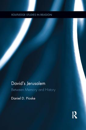 David's Jerusalem: Between Memory and History book cover