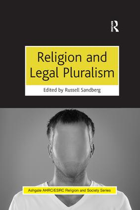 Religion and Legal Pluralism book cover