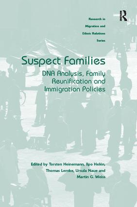 Suspect Families: DNA Analysis, Family Reunification and Immigration Policies, 1st Edition (Paperback) book cover