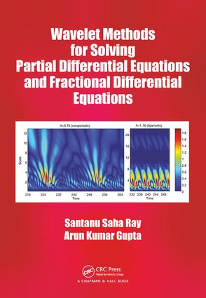 Wavelet Methods for Solving Partial Differential Equations and Fractional Differential Equations: 1st Edition (Hardback) book cover