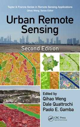 Urban Remote Sensing: 2nd Edition (Hardback) book cover