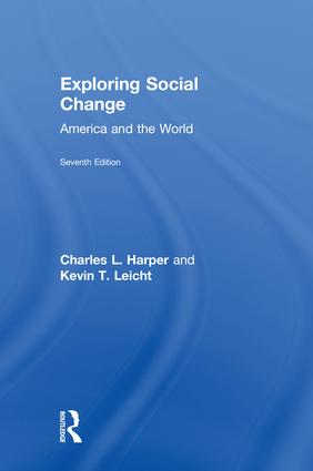 Exploring Social Change: America and the World book cover