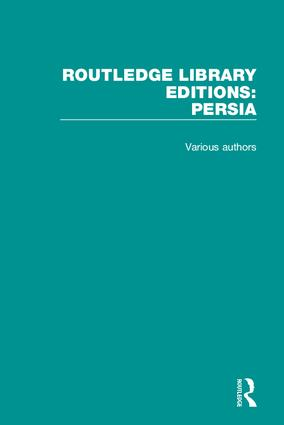 Routledge Library Editions: Persia book cover