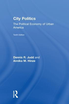 City Politics: The Political Economy of Urban America book cover